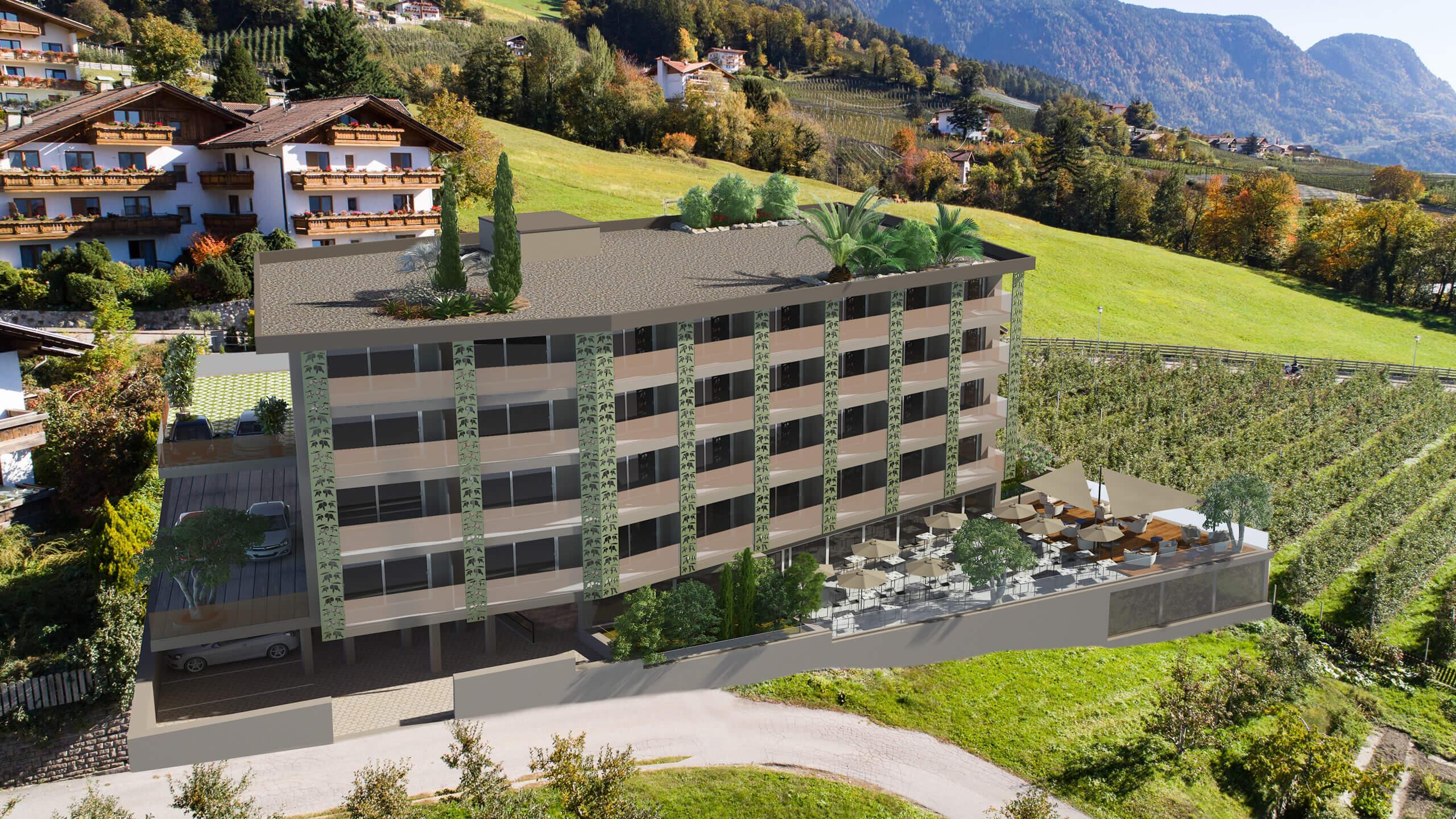 Unser Hotel In Schenna Oliven Genusshotel Hirzer